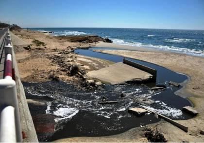 تلوث 73% من مياه شاطئ قطاع غزة و أربع مناطق صالحة للسباحة