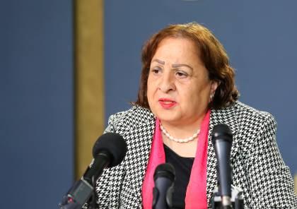 وزيرة الصحة تكشف تفاصيل إتلاف شحنة لقاحات كانت في طريقها إلى قطاع غزة