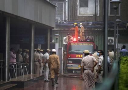 الهند: مصرع 43 شخصا على الأقل في حريق مصنع في نيودلهي