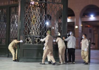شاهد .. افتتاح المسجد النبوي بعد إغلاق طويل
