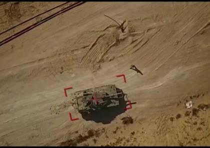 بالفيديو والصور.. سرايا القدس تستهدف آليتين عسكريتين بطائرة مسيّرة لأول مرة