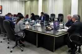 شاهد: اجتماع فلسطيني الماني اردني لبحث مواجهة خطة الضم.. اليك تفاصيله