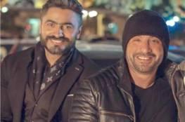 """أحمد السقا لـ تامر حسنى:""""أخطأت إنى أتكلمت على الهوا حقك عليا ماتزعلش"""""""