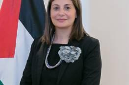 السفيرة حنان جرار تقدم أوراق اعتمادها كأول سفير لفلسطين لدى مملكة ليسوتو