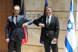 """وزير الخارجية الألماني يصل إسرائيل للتحذير من خطورة """"الضم"""""""