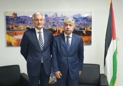 مجدلاني يثمن جهود تركيا بتوفير الاجواء للحوار الفلسطيني