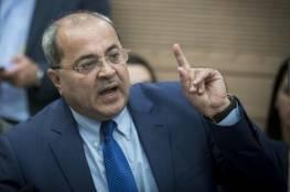 للمرة الأُولى.. الطيبي يعلن دعمه العلني لرئيس حكومة اسرائيل بنيامين نتنياهو