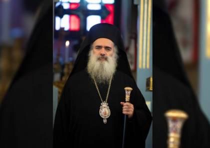 المطران حنا: القدس تتعرض لمحاولة ومؤامرة غير مسبوقة