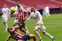 تفاصيل المشادة الكلامية بين سواريز وفاسكيز في ديربي مدريد