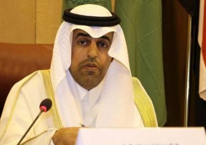 السلمي: جهود البرلمان العربي مخصصة لنصرة القضية الفلسطينية والقدس