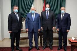 """الرئيس يستقبل رئيسي جهازي المخابرات العامة """"المصرية والأردنية"""""""