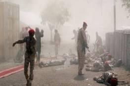 """مجزرة جديدة.. عشرات القتلى في هجوم صاروخي استهدف """"قوات الحزام الأمني"""" جنوب اليمن"""