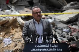 الأشغال تكشف نتائج زيارة وفد حكومي من غزة للقاهرة