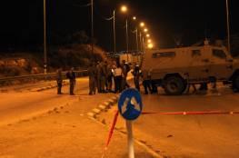 قوات الاحتلال تنصب حاجز عسكريًا في طريق اسكان بيت جالا