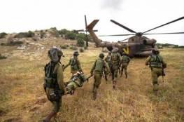 تدريبات أمنية للجيش في معبر شمال الضفة