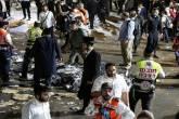 غانتس يقترح التحقيق في مقتل 45 يهوديا في تدافع حفل ديني