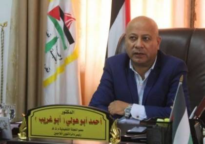 ابو هولي: من يتأمر على منظمة التحرير يستهدف الحقوق والثوابت