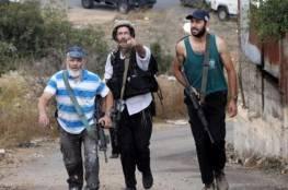 إصابة مواطن في اعتداء للمستوطنين في قرية الفندقومية