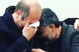 فيديو ينشر لأول مرة منذ 15 عاما... قاسم سليماني ورئيس برلمان إيران يبكيان بحرقة