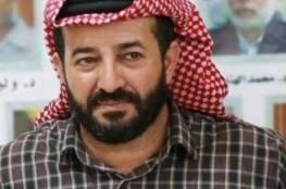 عدنان: نقل الاحتلال الأسير ماهر الأخرس إلى المشفى مؤشر على تدهور صحته