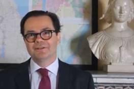 """سفير فرنسا في القاهرة: إقامة دولة فلسطينية في سيناء """"جنون""""!"""