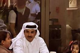 فيديو وصور : أمير قطر رفقة بناته في مطعم يشعل مواقع التواصل الاجتماعي