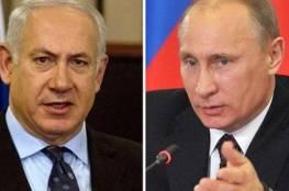 بوتين يهاتف نتنياهو عشية زيارته لاسرائيل
