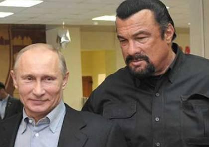 """روسيا تمنح الممثل الامريكي """"ستيفن سيغال """" مهمة صعبة ومستحيلة"""