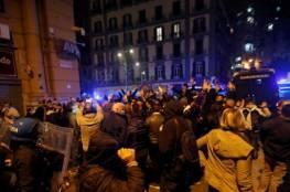 مواجهات بين الشرطة ومتظاهرين ضد حظر التجول في ايطاليا