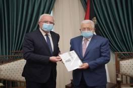 الرئيس يتسلم التقرير السنوي للخارجية من الوزير المالكي