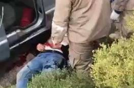 شاهد الفيديو : إغتيال قيادي بحزب الله في جنوب لبنان
