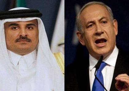 """مصادر لـ""""سما"""" : نتنياهو هاتف أمير قطر وتوسل اليه بأدخال الاموال الى قطاع غزة"""