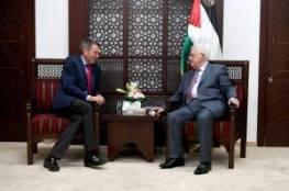 الرئيس خلال لقائه رئيس الصليب الأحمر: انهاء الانقسام مشروط بالغاء حماس اللجنة الادارية