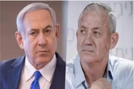 حزب غانتس يقرر عدم التصويت لمشروع قانون ضد نتنياهو
