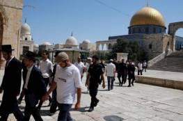 55 مستوطنا يقتحمون المسجد الأقصى