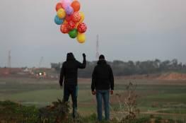 مسؤولون إسرائيليون: إطلاق البالونات المفخخة يتم بتوجيه من حماس