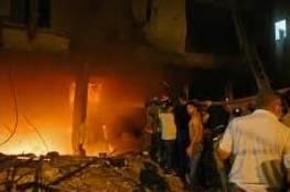 10 إصابات جراء انفجارٍ داخل مستودع للوقوع على الحدود اللبنانية السورية