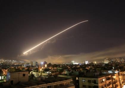 عدوان اسرائيلي على سوريا