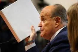 ترامب وبايدن يتبادلان الاتهامات بتسييس وزارة العدل بعد تفتيش شقة جولياني