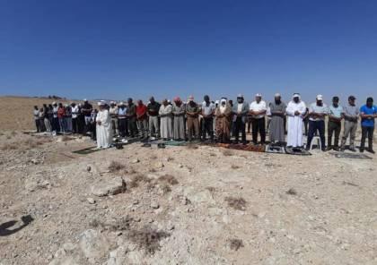 الاحتلال يمنع صلاة الجمعة على أراضي حارس المهددة بالاستيلاء عليها