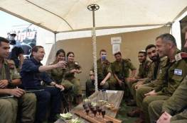 شاهد: الرئيس الاسرائيلي يزور غلاف غزة..