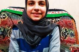 الطالبة رزان غانم من رفح تطلق مبادرة (شتاء دافئ)