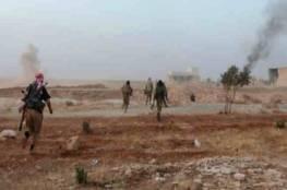 """انشقاق 25 مسلحا من """"مغاوير الثورة"""" وانضمامهم لقوات الجيش السوري في منطقة التنف"""
