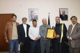أبو هولي: منظمة التحرير تتعرض لمؤامرات التصفية من خلال خلق اجسام بديلة
