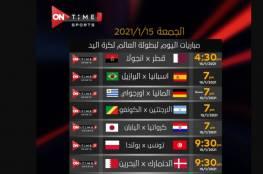 مشاهدة مباراة تونس وبولندا بث مباشر في كأس العالم لكرة اليد 2021