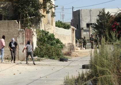 4 إصابات بالرصاص المعدني إحداها في الرأس خلال قمع الاحتلال مسيرة كفر قدوم الأسبوعية
