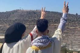 عمران ورغد.. شابان من نابلس عقدا قرانهما على جبل صبيح