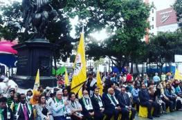 """""""فتح"""" إقليم فنزويلا تحيي الذكرى الـ14 لاستشهاد القائد عرفات"""