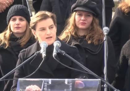 شريكة رئيسة وزراء صربيا المثلية ترزق بمولود جديد