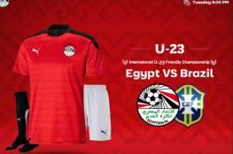 ملخص أهداف مباراة مصر والبرازيل الأولمبي